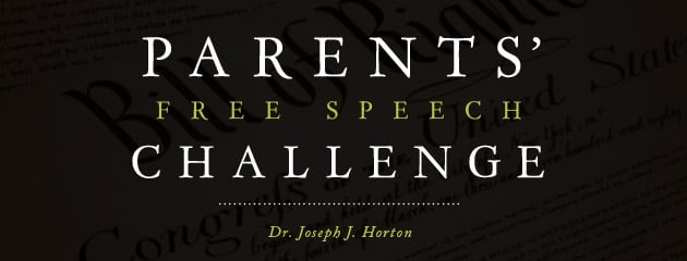 , A Free Speech Challenge for Parents