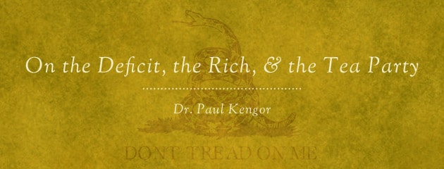 , On the Deficit, the Rich, and the Tea Party