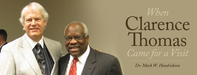 , When Clarence Thomas Came for a Visit