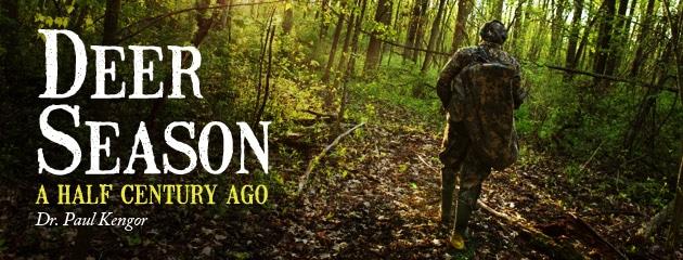 , Deer Season a Half Century Ago