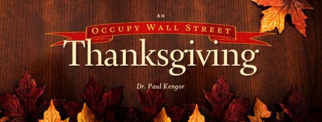 ", An ""Occupy Wall Street"" Thanksgiving?"