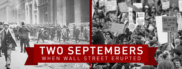, Two Septembers: When Wall Street Erupted