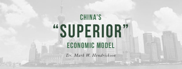 ", China's ""Superior"" Economic Model?"