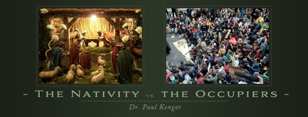 , Two Visions: The Nativity vs. the Occupiers