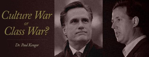 , Santorum or Romney? Culture War or Class War?