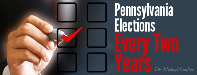 , Pennsylvania, Let's Move to Elections Once Every Two Years