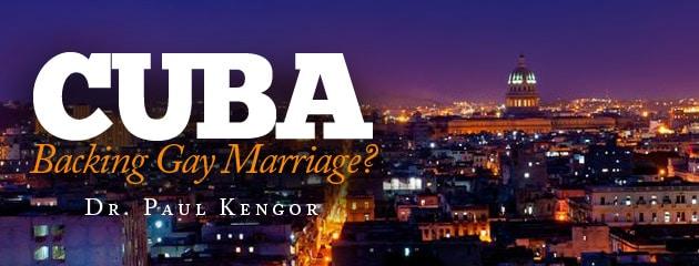 , Cuba Backing Gay Marriage?