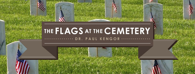 , The Flags at the Cemetery