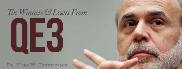 , The Winners and Losers From QE3