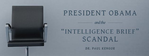 """, President Obama and the """"Intelligence Brief"""" Scandal"""