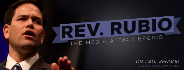 , Reverend Rubio? The Media Begins Its Attack on Marco Rubio