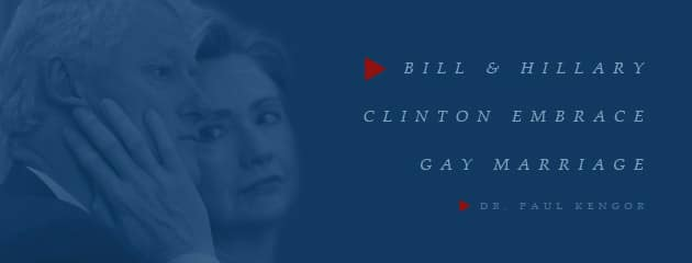 , Clintons' Progress: Bill and Hillary Clinton Embrace Gay Marriage