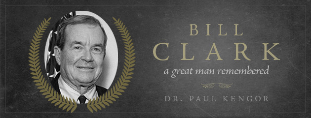 , Bill Clark, a great man remembered
