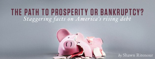 , The path to prosperity or bankruptcy? Staggering facts on America's rising debt