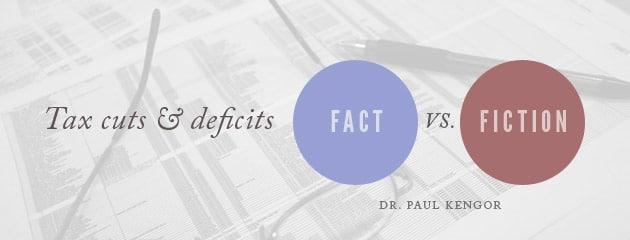 , Tax cuts and deficits: Fact vs. fiction