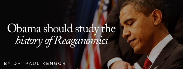 , Obama should study the history of Reaganomics