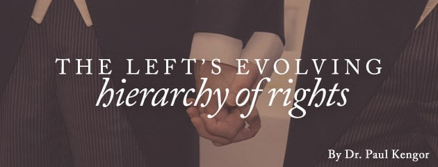, The left's evolving hierarchy of rights
