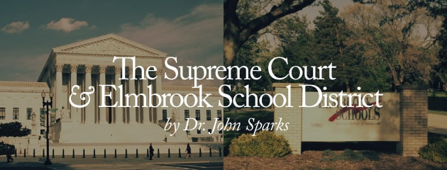 ", Being ""offended"" does not constitute an ""establishment"" of religion: The Supreme Court and Elmbrook School District"