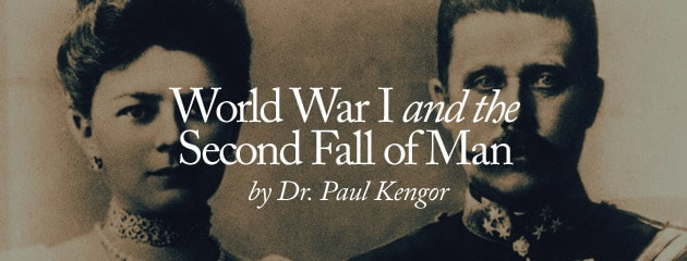 , WWI and the Second Fall of Man