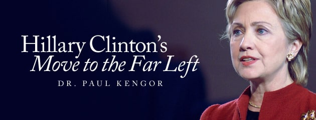 , Hillary Clinton's Move to the Far Left