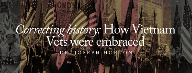 , Correcting history: How Vietnam Vets were embraced