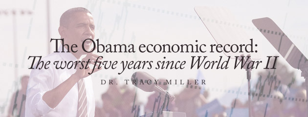 , The Obama economic record: the worst five years since World War II