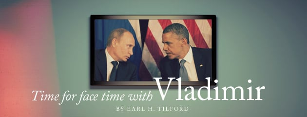 , Time for face time with Vladimir