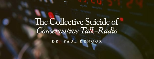 , The Collective Suicide of Conservative Talk-Radio