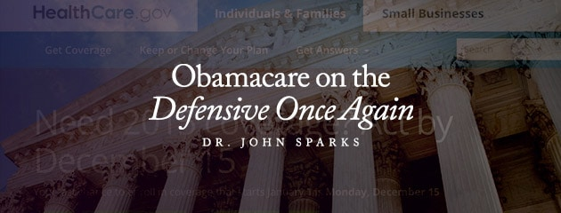 , Obamacare on the Defensive Once Again