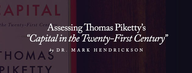 """, Assessing Thomas Piketty's """"Capital in the Twenty-First Century"""""""