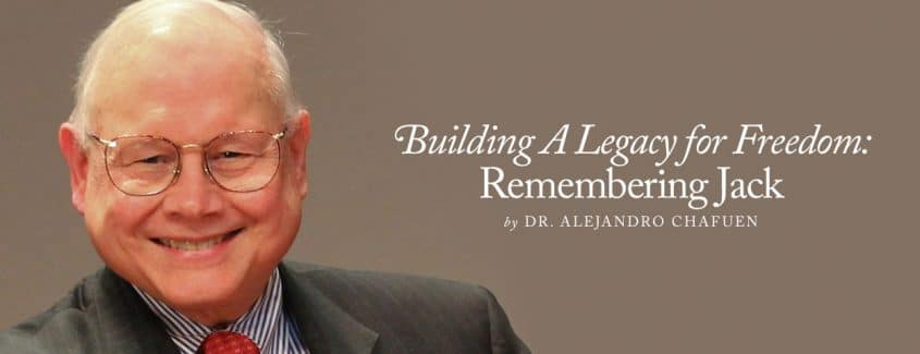 , Building A Legacy for Freedom: Remembering Jack