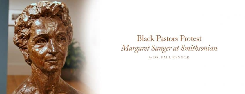 , Black Pastors Protest Margaret Sanger at Smithsonian