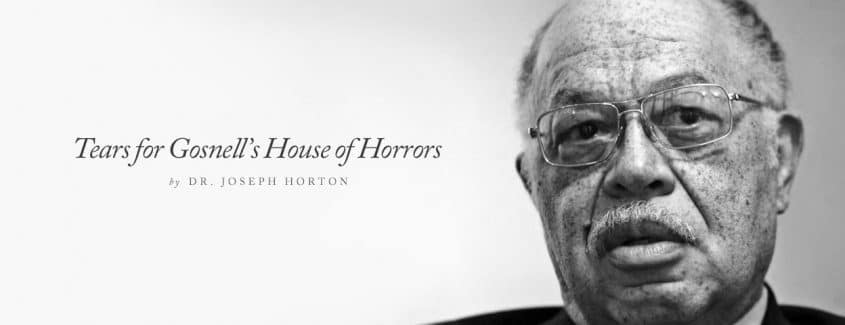 , Tears for Gosnell's House of Horrors