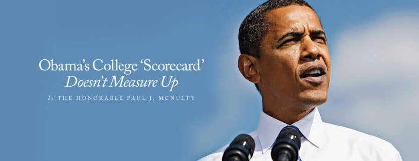 , Obama's College 'Scorecard' Doesn't Measure Up