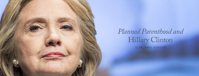 , Planned Parenthood and Hillary Clinton