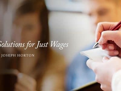 Conservative Solutions for Just Wages