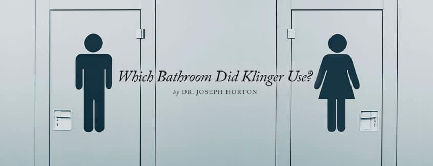 , Which Bathroom Did Klinger Use?