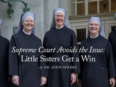 Supreme Court Avoids the Issue: Little Sisters Get a Win