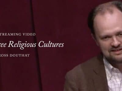 STREAMING VIDEO – 2016 – America's Three Religious Cultures: Embattled Christians, Pop Heretics and Highbrow Skeptics in the 21st Century