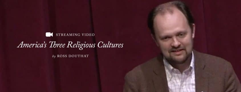 , STREAMING VIDEO – 2016 – America's Three Religious Cultures: Embattled Christians, Pop Heretics and Highbrow Skeptics in the 21st Century
