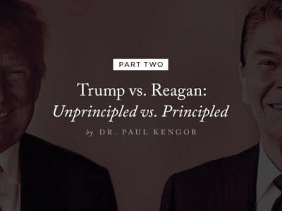 Trump vs. Reagan: Unprincipled vs. Principled