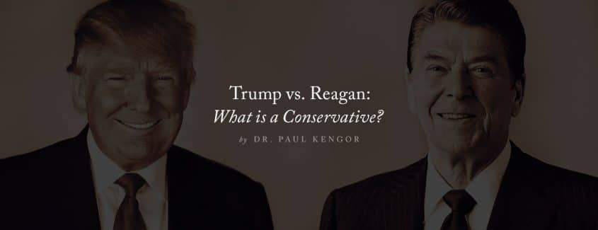 , Trump vs. Reagan: What is a Conservative?