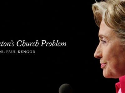 Hillary Clinton's Church Problem