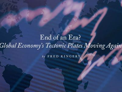 End of an era? Global economy's tectonic plates moving again