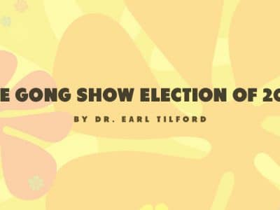 The Gong Show Election of 2016