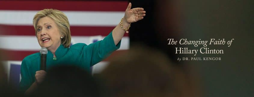 , The Changing Faith of Hillary Clinton