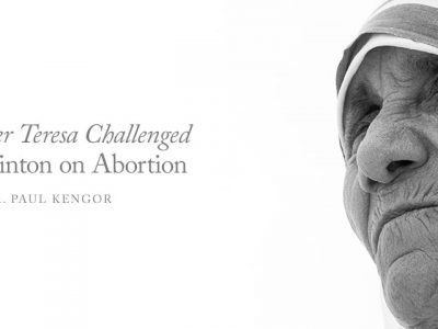 How Mother Teresa Challenged Hillary Clinton on Abortion