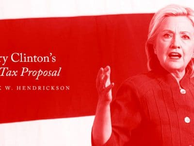 Hillary Clinton's Estate Tax Proposal