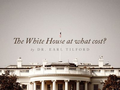 The White House at what cost? … and what difference does it make?