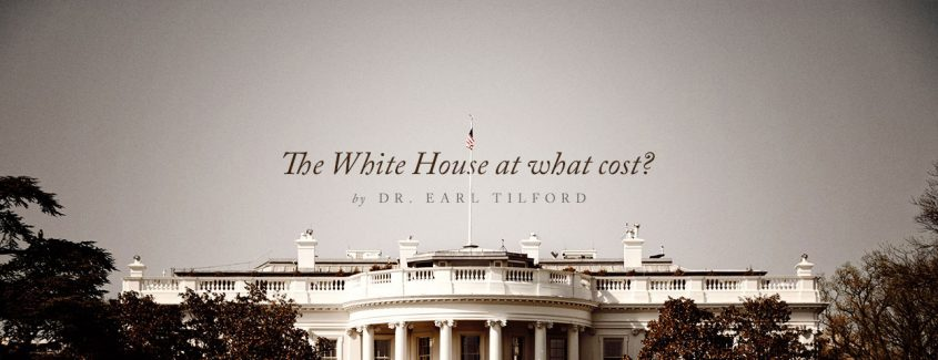 , The White House at what cost? … and what difference does it make?